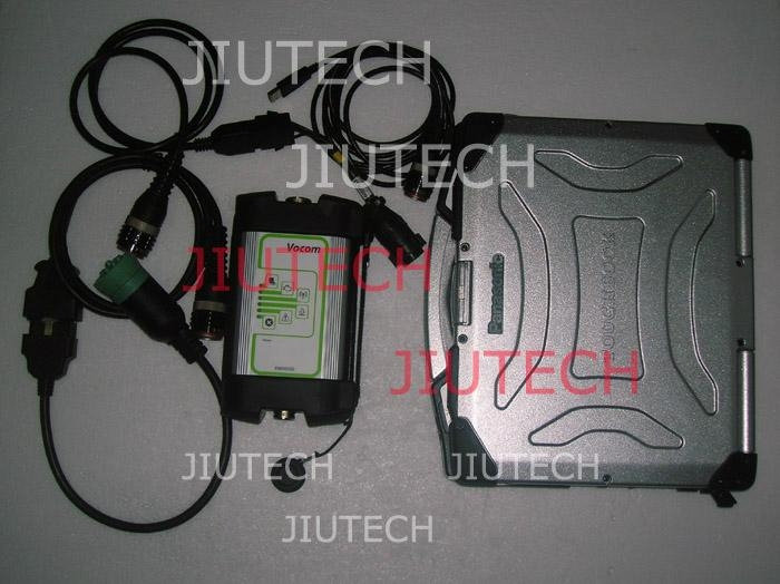 Volvo Vocom 88890300 With Full 5 Cables for volvo vcads heavy duty diagnostic