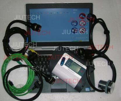 Full Set MB SD C4 Compact 4 With Dell E6420 Mercedes Star Diagnosis