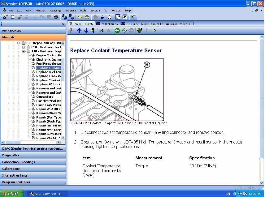 John Deere Service Advisor 4.2 CCE ,Service Advisor 4.2 john Deere tool Scanner