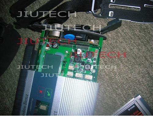Multiplexer Wireless Mercedes Star Diagnosis Tool Compact 4 With Sd Connect