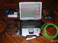MB SD Connect C4 Compact 4 with Panasonic CF29 laptop Mercedesstar Diagosis tool