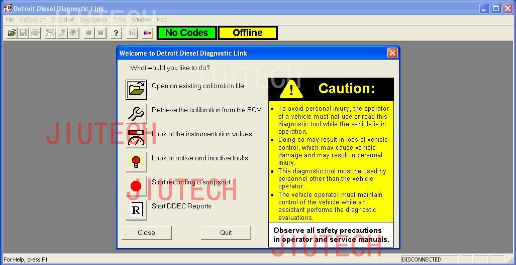 detroit diesel pro link scanner