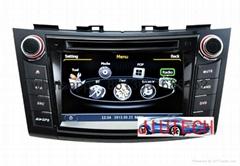 "7"" Car Stereo GPS Headunit Multimedia DVD for Suzuki Swift,"