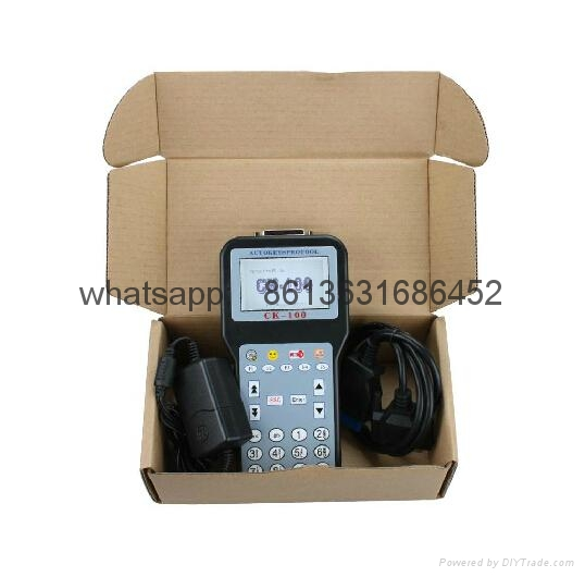 CK-100 CK100 V46.02 with 1024 Tokens Auto Key Programmer Newest Generation SBB