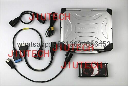 Iveco ECI diagnostic interface with IVECO 38 Pin Cable OBD 2 Diagnostic