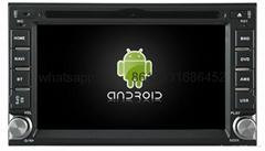 Universal Android Car GPS System headunit for NISSAN Hyundai QASHQAI PALADIN