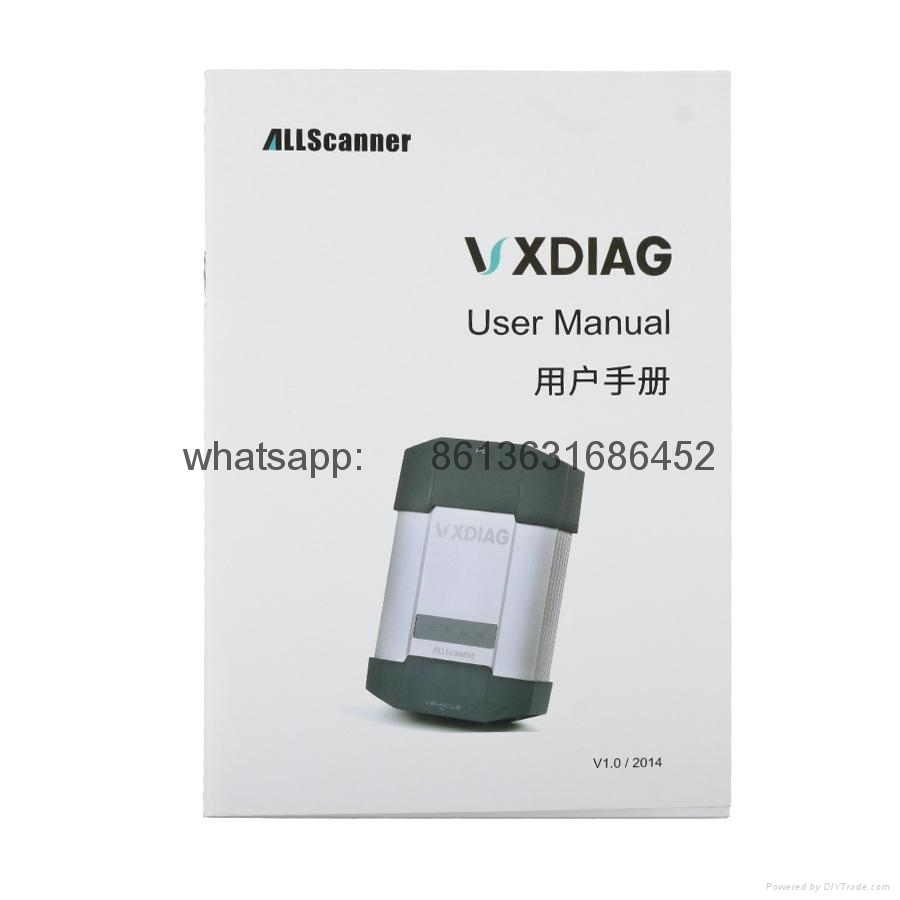 VXDIAG MULTI Diagnostic Tool for TOYOTA V9.30.002 + HONDA V3.014 + Land Rover/Jaguar JLR V141 3 IN 1