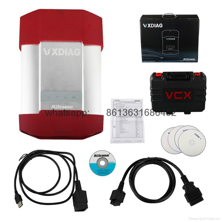 VXDIAG MULTI Diagnostic Tool for TOYOTA V9.30.002 + HONDA V3.014 + Land Rover/Jaguar JLR V141 3 IN 1
