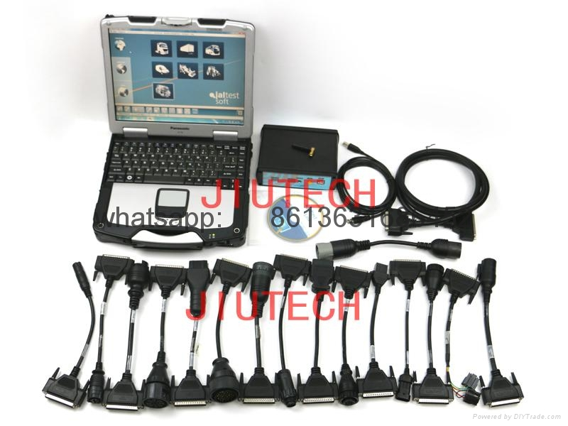 Universial Truck Diagnosis Jaltest Test Coder Reader Full Set+CF30