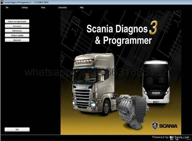 Scania VCI 2 SDP3 Diagnosis& Programmer3 excavato