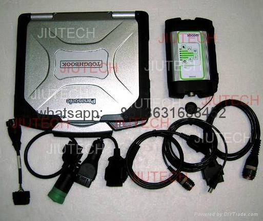 Volvo Vocom 88890300 CF30 Laptop for volvo engine diagnosis tool scanner