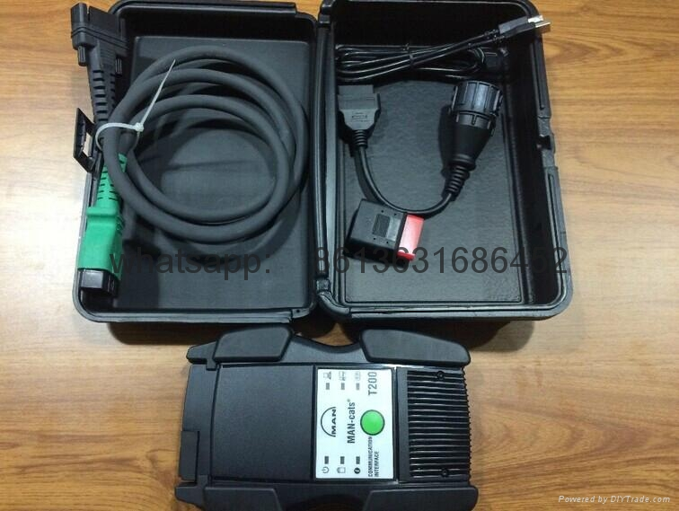 Man T200  Man-cats Truck Diagnostic Scanner with CF30 laptop