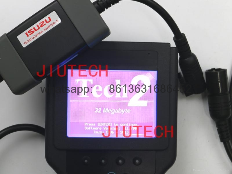 ISUZU Universal Truck Diagnosis isuzu tech 2 DC24v adapter 2