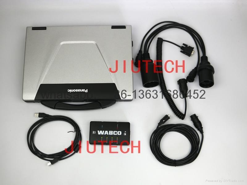 WABCO DIAGNOSTIC KIT WDI + panasonic CF52 Full Set WABCO DIAGNOSTIC  tool scanne