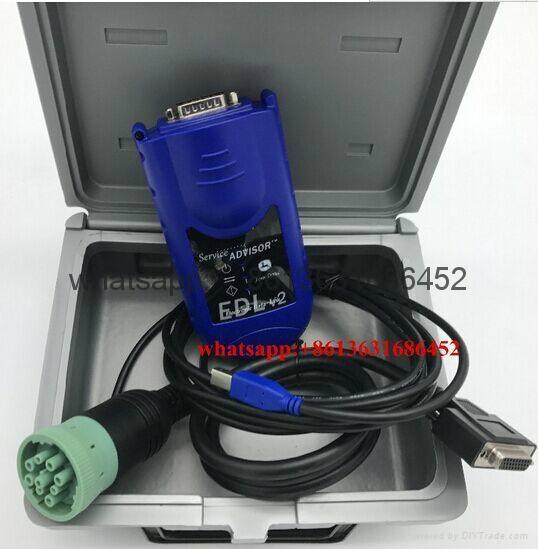 John deere diagnostic tool kit with E6420 Laptop john deere service advisor edl