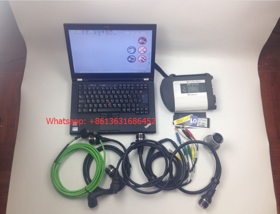 Mercedes Star Diagnosis MB SD C4 Compact 4 with ibm t420 laptop full set  1