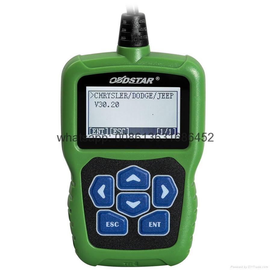OBDSTAR F104 Chrysler Jeep & Dodge Pin Code Reader and Key Programmer