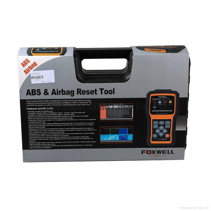 oxwell NT630 AutoMaster Pro ABS Airbag Reset Tool