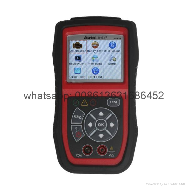 Original Autel AutoLink AL439 OBDII/CAN And Electrical Test Tool Free Shipping by DHL