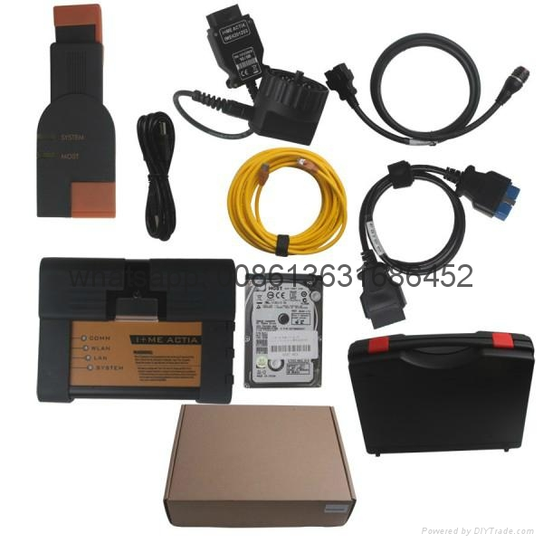 2017.09V Super Version ICOM A2+B+C For BMW Diagnostic & Programming Tool With ISTA-D 4.06.31 ISTA-P 3.62.1.003 HDD