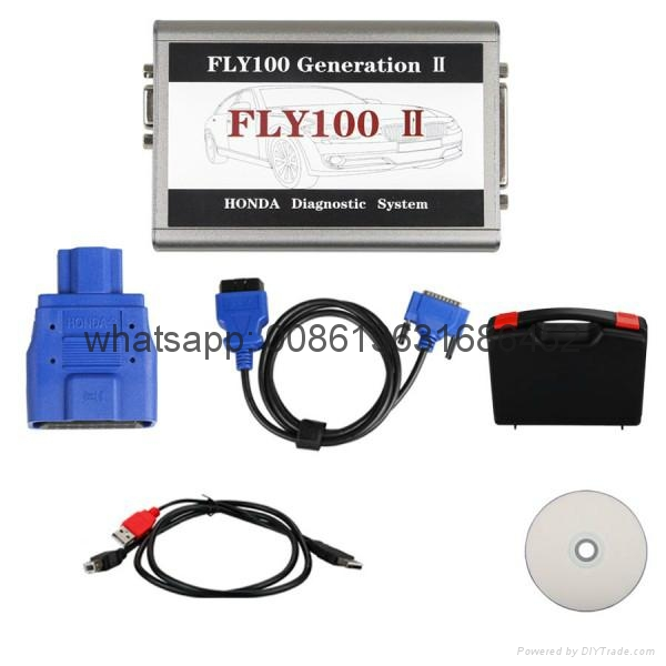 (FLY100 G2) V3.016 Honda Scanner Full Version Diagnosis and Key Programming