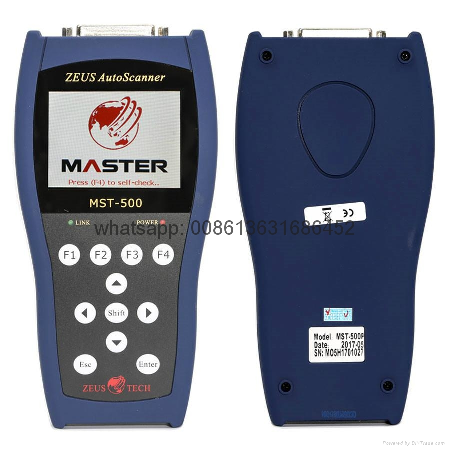 MASTER MST-500 Handheld Motorcycle Diagnostic Scanner Tool