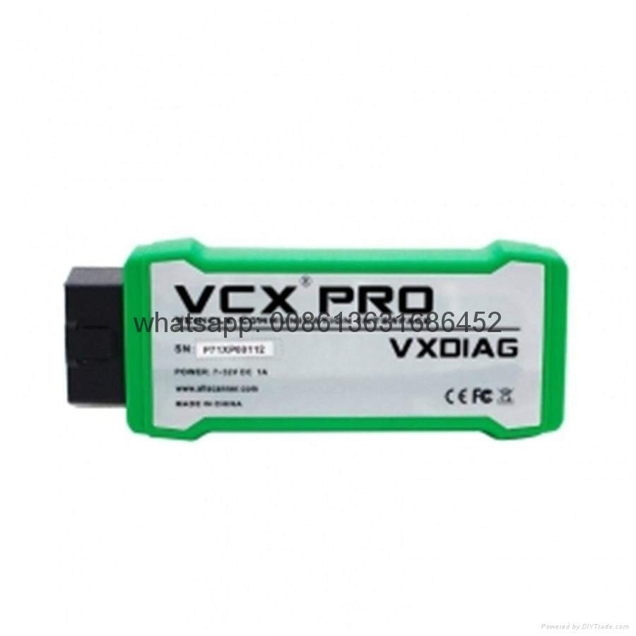 2017 New VXDIAG VCX NANO PRO For GM / FORD / MAZDA / VW / HONDA / VOLVO / TOYOTA / JLR 3 in 1 Auto Diagnostic Tool