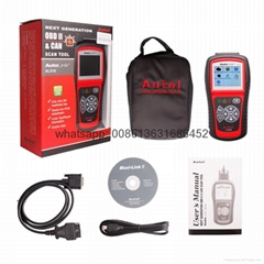Original Autel AutoLink AL519 OBD-II And CAN Scanner Tool Multi-languages Ship