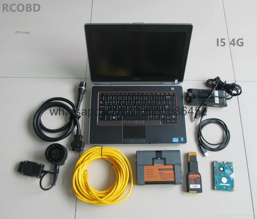 bmw icom a2+hdd 500gb 2017.09 newest software+laptop E6420 laptop full set