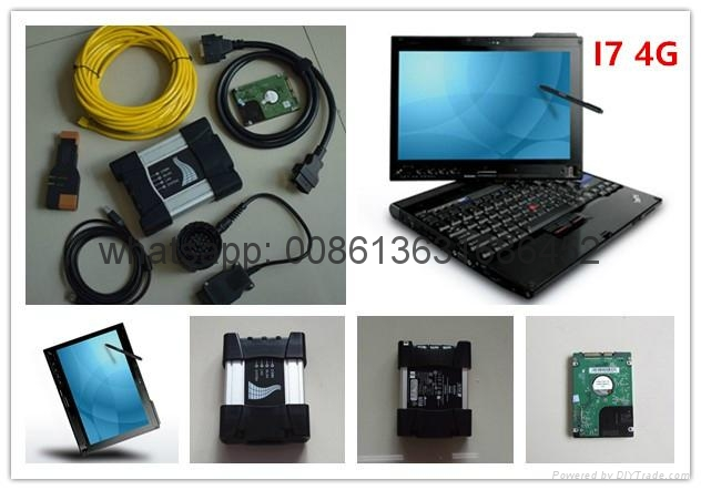 super for bmw diagnostic scanner for bmw icom next with software 2017.9 expert mode hdd 500gb computer x201t i7 4g touch screen