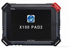 New XTOOL Original X100 Pad2 Auto Key Programmer Support Odometer OilRst TPMS