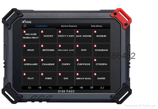 XTOOL Original X100 Pad2 key programmer with 4&5 IMMO Support EPB EPS OBD2 Odometer OilRst TPMS TPS X100 PAd 2 Better than X300 pro3