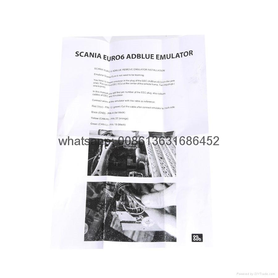 Scania Euro6 Adblue Emulator