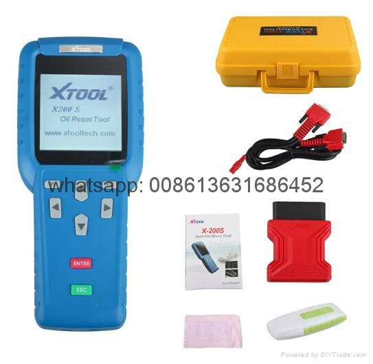 Top Quality Original XTOOL Oil Reset Tool X-200 X200 Online Update by Fast Express Shipping Xtool X200 Engine oil light reset