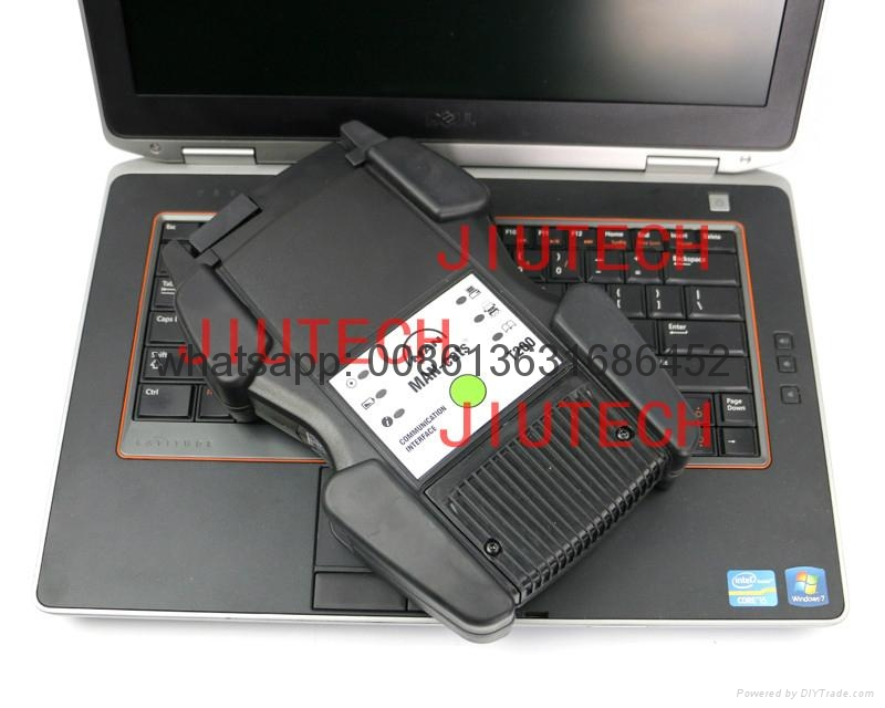 Full Set Heavy Duty Truck Diagnostic Scanner14.1 With E6420 Laptop T200 UsbCable