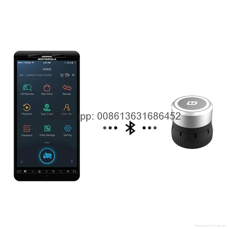 XTUNER Bluetooth CVD-6 on Android Commercial Vehicle Diagnostic Adapter XTuner CVD Heavy Duty Scanner