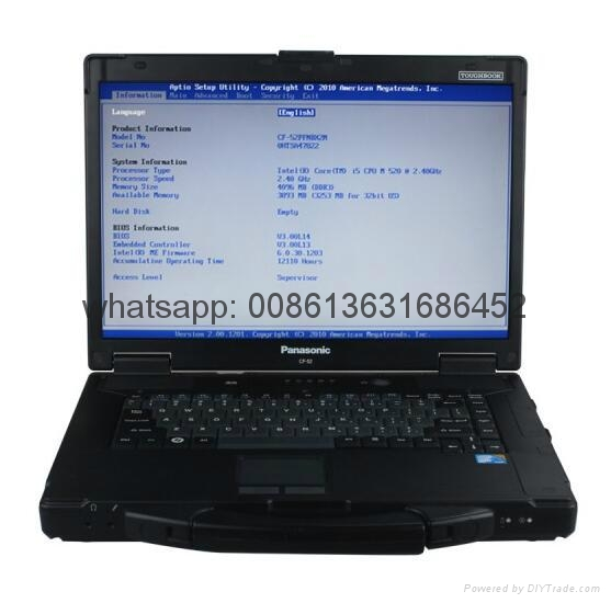 MB SD C4/C5 Star Diagnosis Plus Panasonic CF 52 Laptop