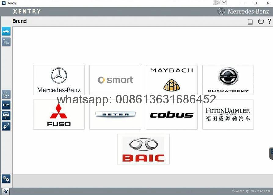 MB STAR SD C4/C5 Super Engineering Software Vediamo Support