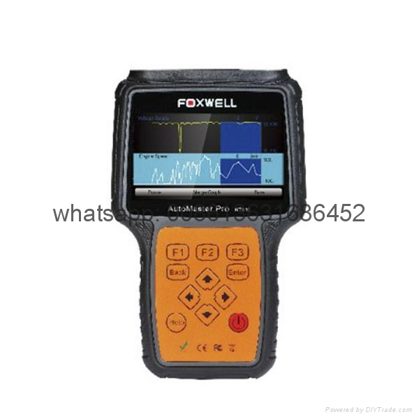 Foxwell NT 613 AutoMaster Pro French & Italian Makes 4 Systems Scanner