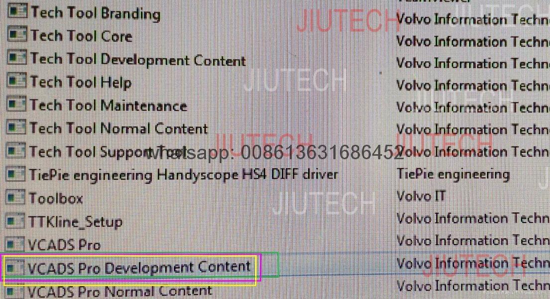 VTT 2.04.75 Version 4 Support FH FM for Volvo Vocom