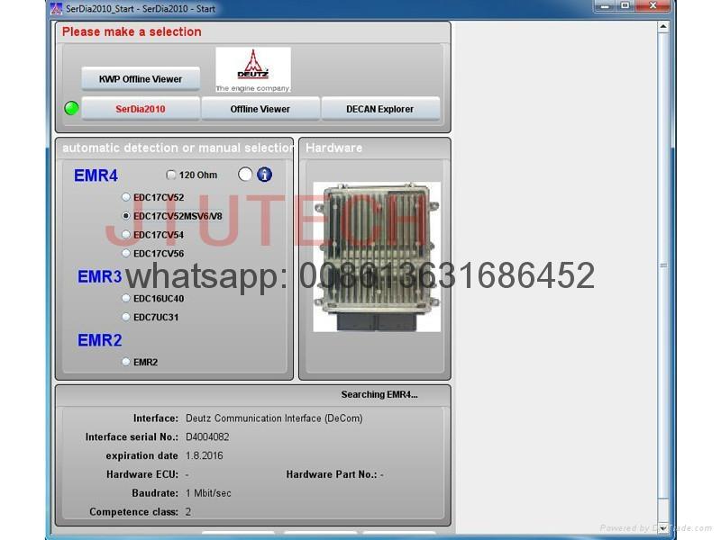 Auto Diagnostic Scanner Construction Scanner for deuiz Diagnostic kit DECOM