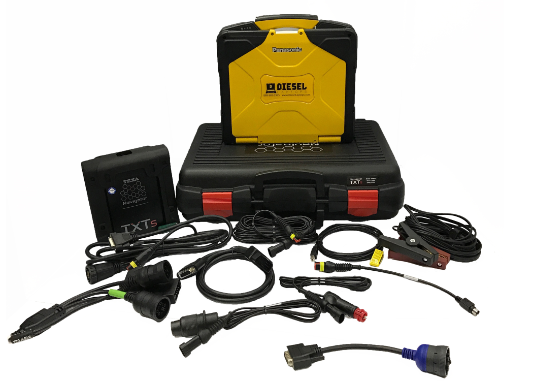 TEXA Construction & Off Highway Diagnostic Scanner Laptop Tool