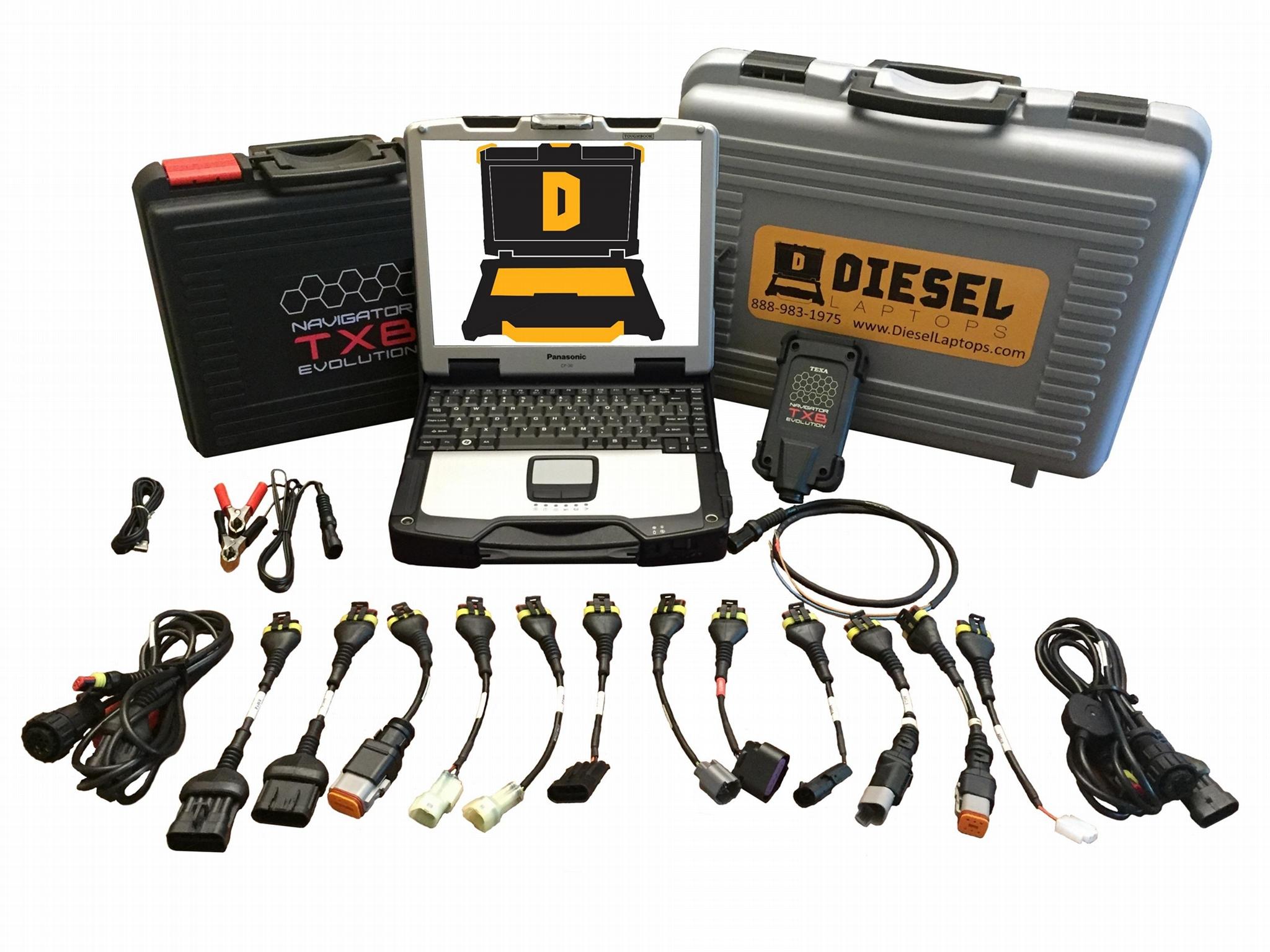 TEXA Dealer Level Marine Diagnostic Scanner Tool Basic Coverage