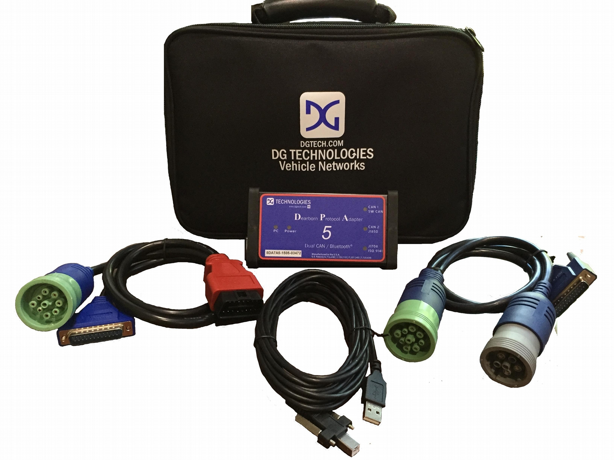 DPA5 Dearborn Protocol Adapter 5 Heavy Duty with OBDII Cable