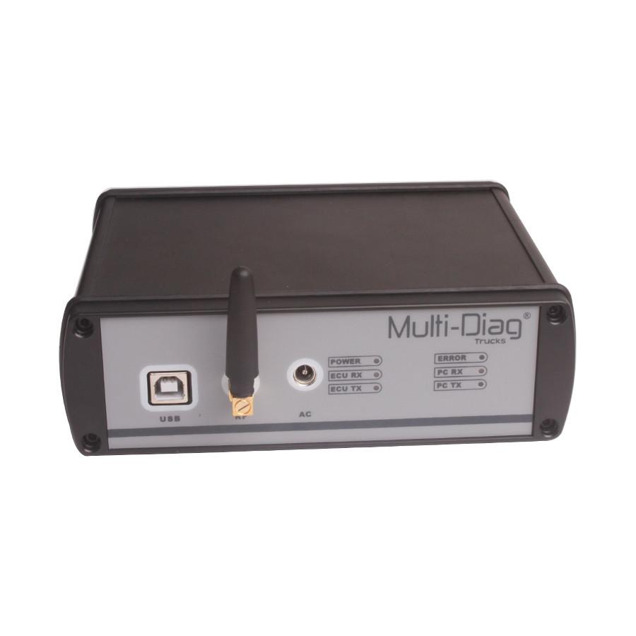 WAS Multi-Diag Bluetooth Multi-Language Truck Diagnosis