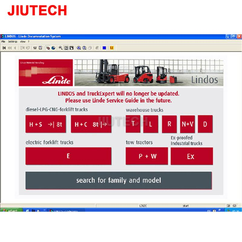 Linde Lindos Parts Catalog EPC for Linde ForkLift Trucks diagnostic tool