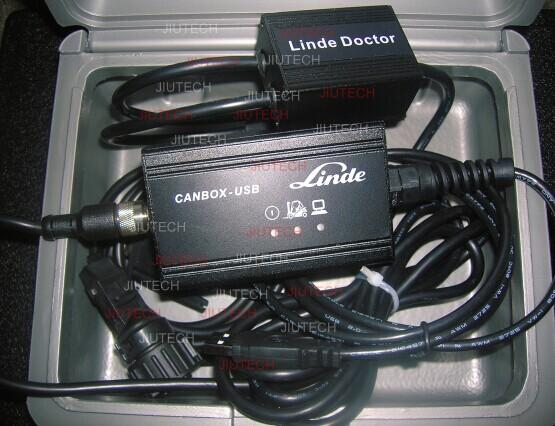 Linde Canbox Doctor Forklift Diagnostic Tool USB With D630 Laptop