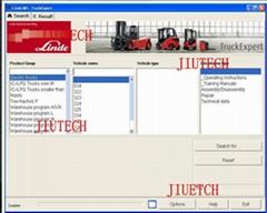 Manual Forklift Diagnostic Tools For Truck , Linde Wiring Diagrams