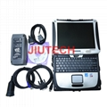 JCB Construction truck diagnostic scanner with JCB Service Master +T420 Laptop
