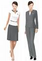 成都定做職業裝西服襯衫領帶13